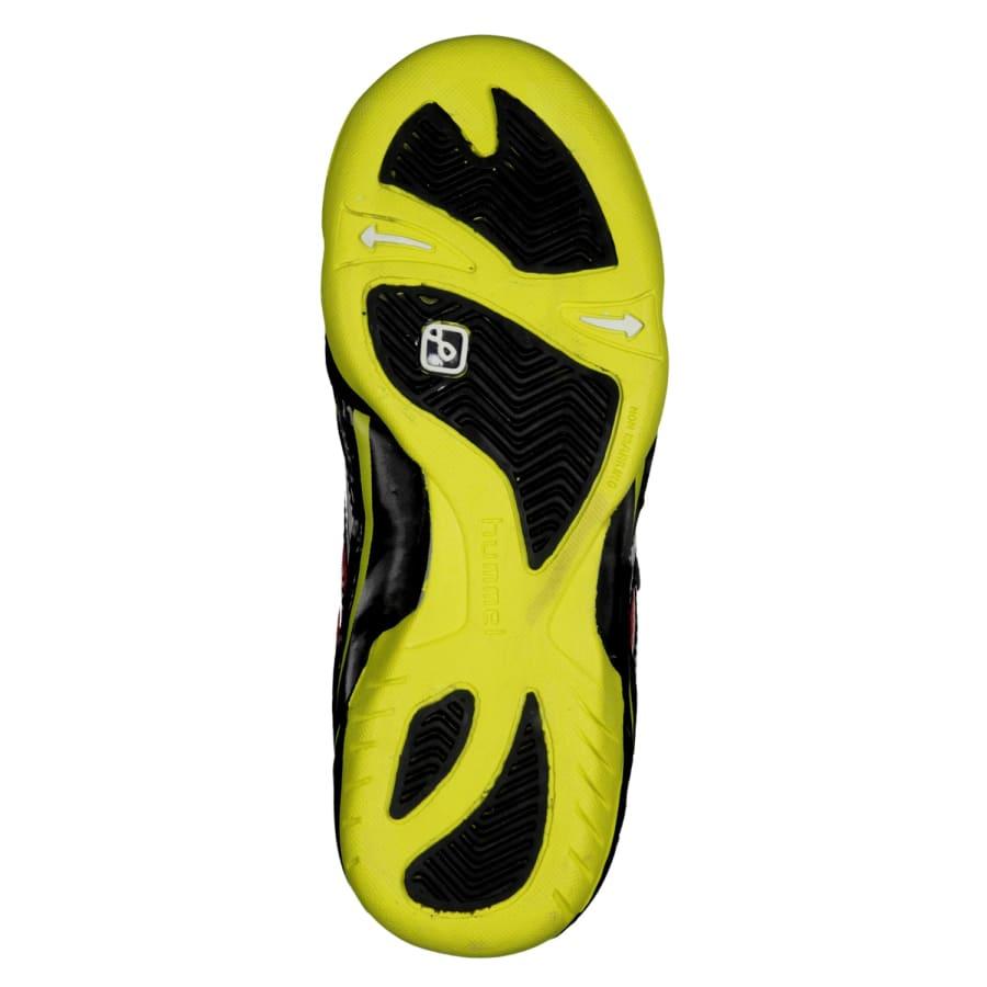 hummel handballschuhe authentic jr kinder schwarz gelb. Black Bedroom Furniture Sets. Home Design Ideas