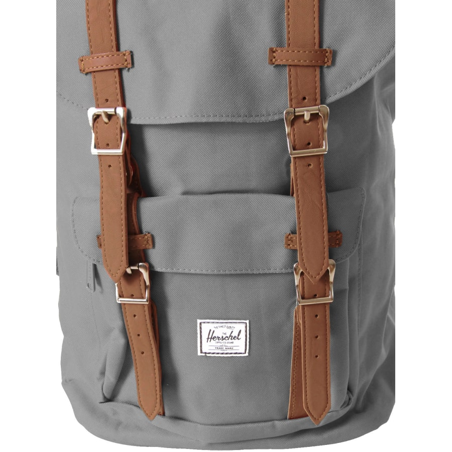 herschel little america classic rucksack grau braun vaola. Black Bedroom Furniture Sets. Home Design Ideas