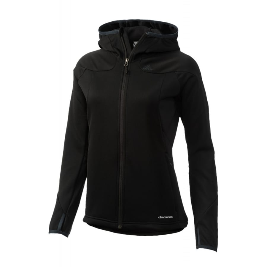 adidas hiking 1sd fleece hoody softshelljacke damen. Black Bedroom Furniture Sets. Home Design Ideas