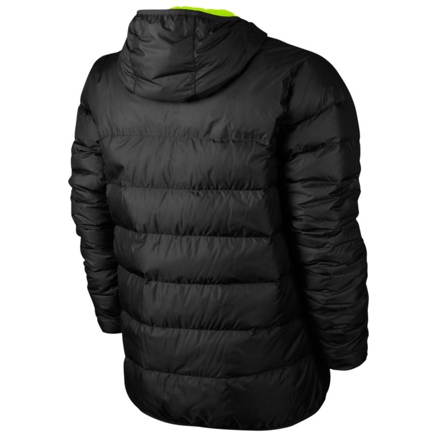 nike draft down jacket hooded winterjacke herren. Black Bedroom Furniture Sets. Home Design Ideas