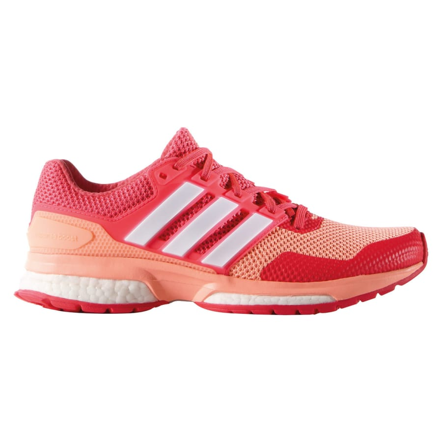 adidas response boost 2 laufschuhe damen rot vaola. Black Bedroom Furniture Sets. Home Design Ideas