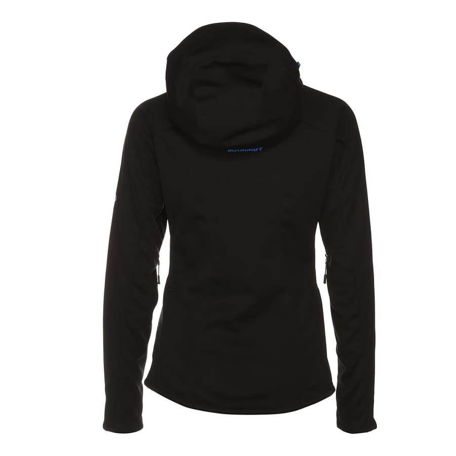 mammut ultimate hoody softshelljacke damen schwarz. Black Bedroom Furniture Sets. Home Design Ideas