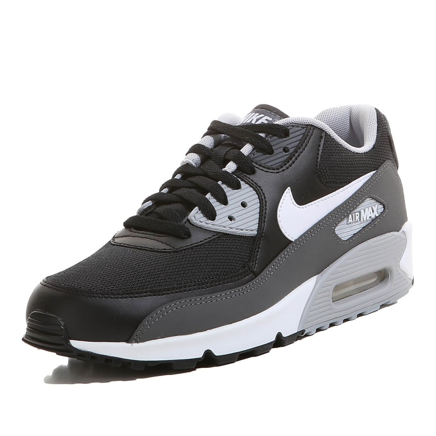 nike air max 90 essential sneaker herren schwarz grau. Black Bedroom Furniture Sets. Home Design Ideas