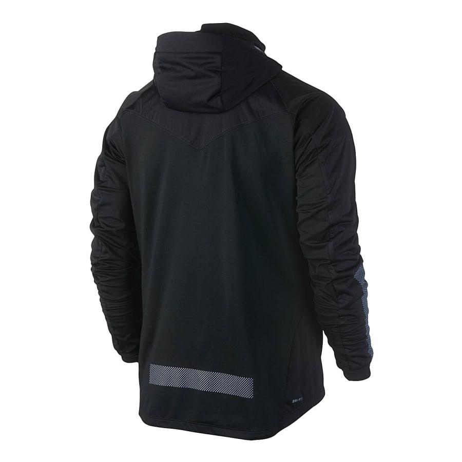 nike shield max jacket laufjacke herren schwarz vaola. Black Bedroom Furniture Sets. Home Design Ideas