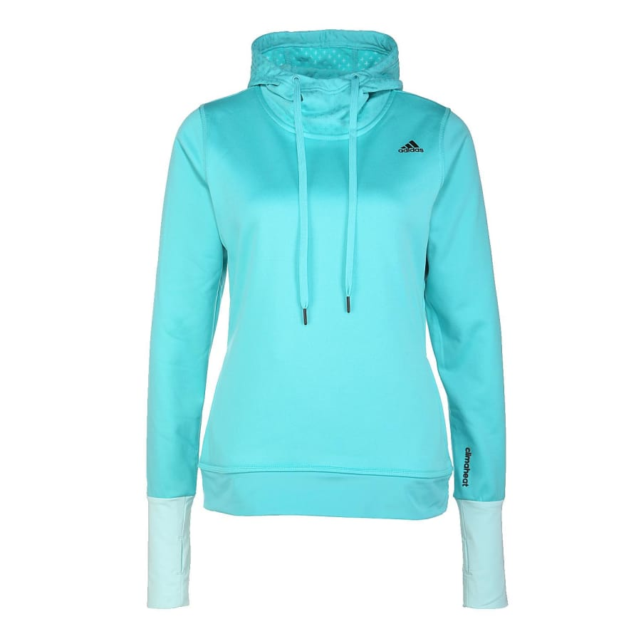 adidas climaheat overhead fleece fleece pullover women. Black Bedroom Furniture Sets. Home Design Ideas