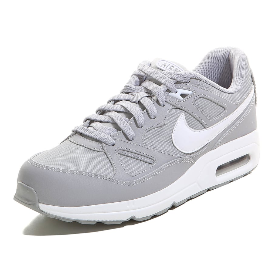 nike air max span sneaker herren grau wei vaola. Black Bedroom Furniture Sets. Home Design Ideas