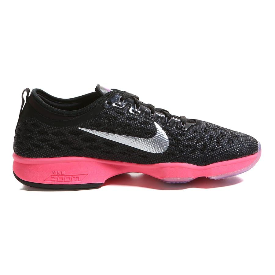 nike zoom fit agility fitnessschuhe damen schwarz pink. Black Bedroom Furniture Sets. Home Design Ideas