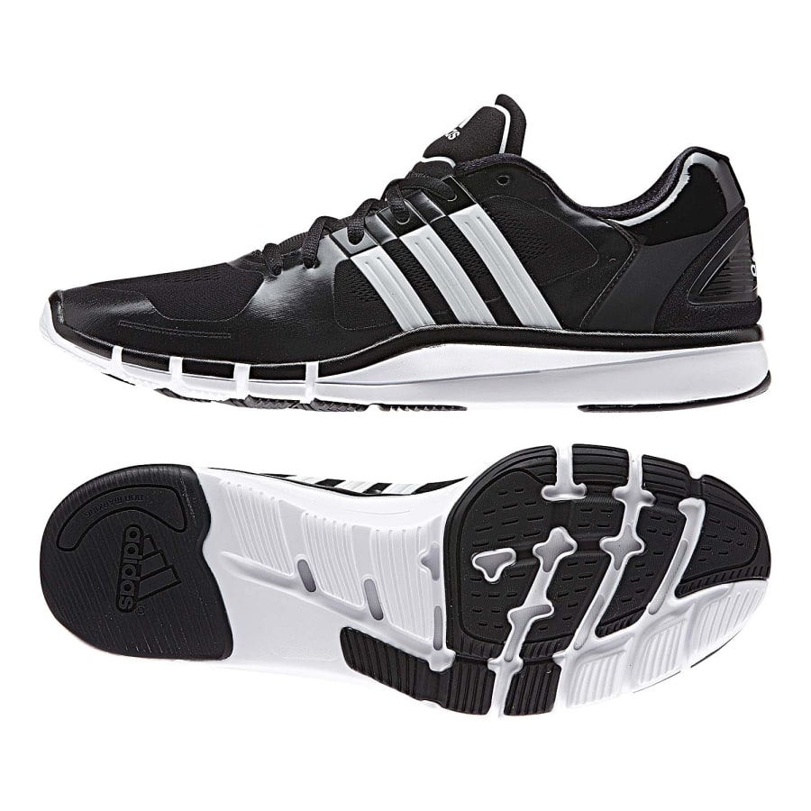 adidas adipure 360 2 fitnessschuhe herren schwarz wei. Black Bedroom Furniture Sets. Home Design Ideas