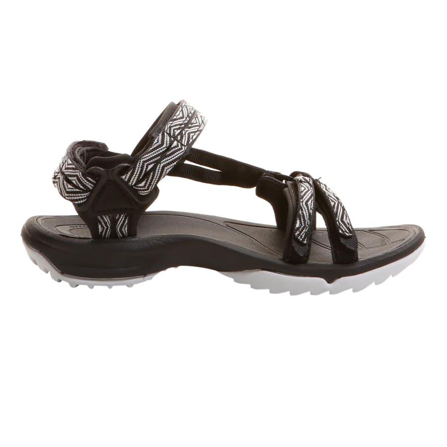 teva terra fi lite outdoor sandalen damen schwarz wei vaola. Black Bedroom Furniture Sets. Home Design Ideas