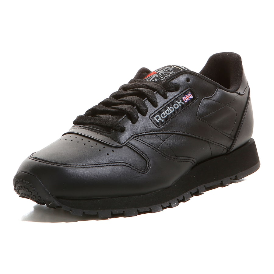 reebok classic leather sneaker men black vaola. Black Bedroom Furniture Sets. Home Design Ideas