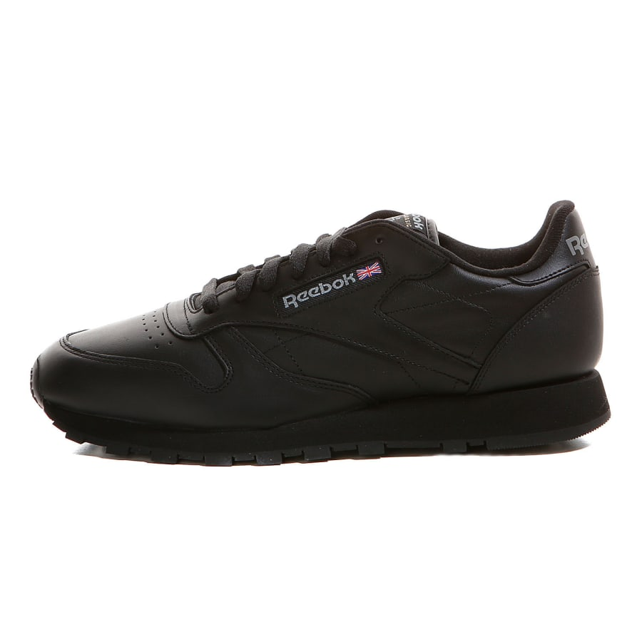 reebok classic leather sneaker herren black vaola. Black Bedroom Furniture Sets. Home Design Ideas