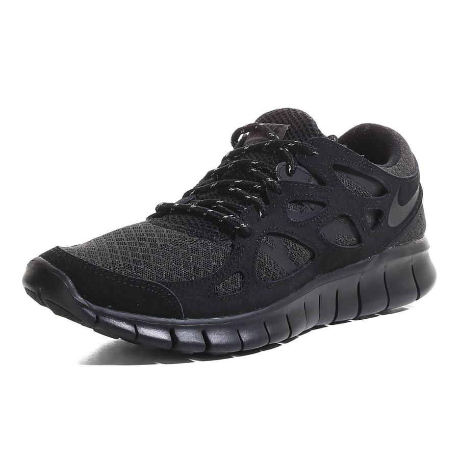 nike free run 2 sneaker men black vaola. Black Bedroom Furniture Sets. Home Design Ideas
