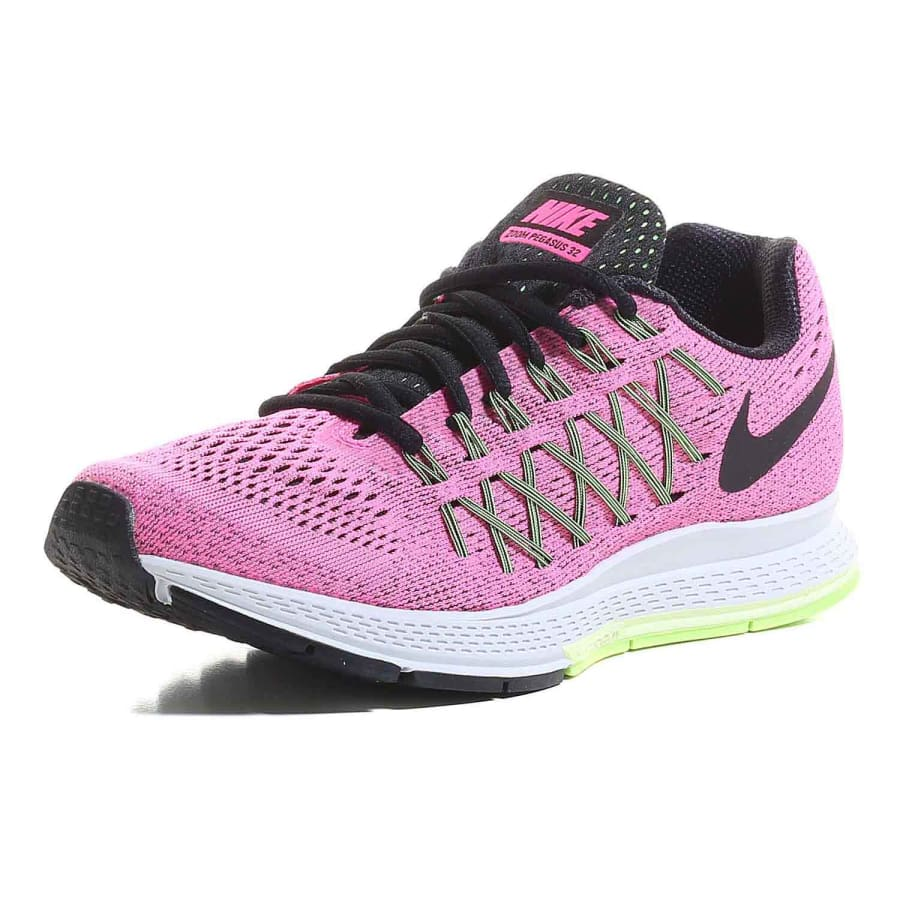 nike zoom air pegasus 32 running shoes pink vaola. Black Bedroom Furniture Sets. Home Design Ideas