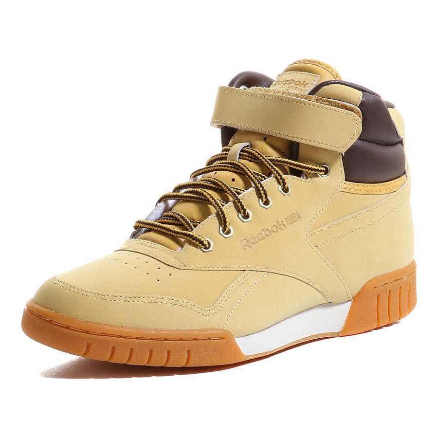 reebok exofit plus hi wp sneaker men beige vaola. Black Bedroom Furniture Sets. Home Design Ideas