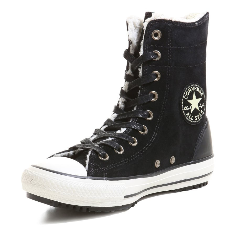 converse chuck taylor all star hi rise material leather. Black Bedroom Furniture Sets. Home Design Ideas