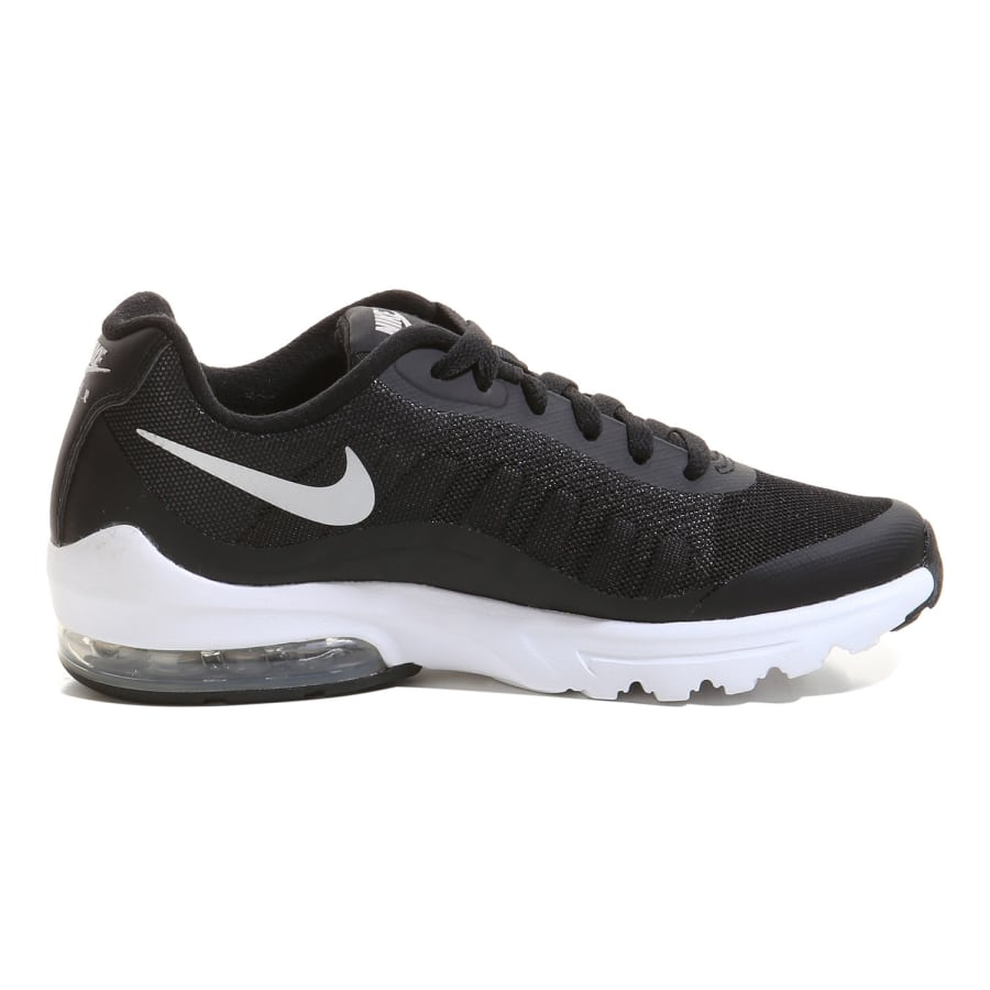 nike air max invigor sneaker black white vaola. Black Bedroom Furniture Sets. Home Design Ideas
