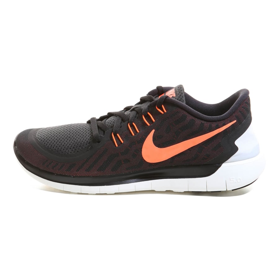 nike free 5 0 running shoe men black orange vaola. Black Bedroom Furniture Sets. Home Design Ideas