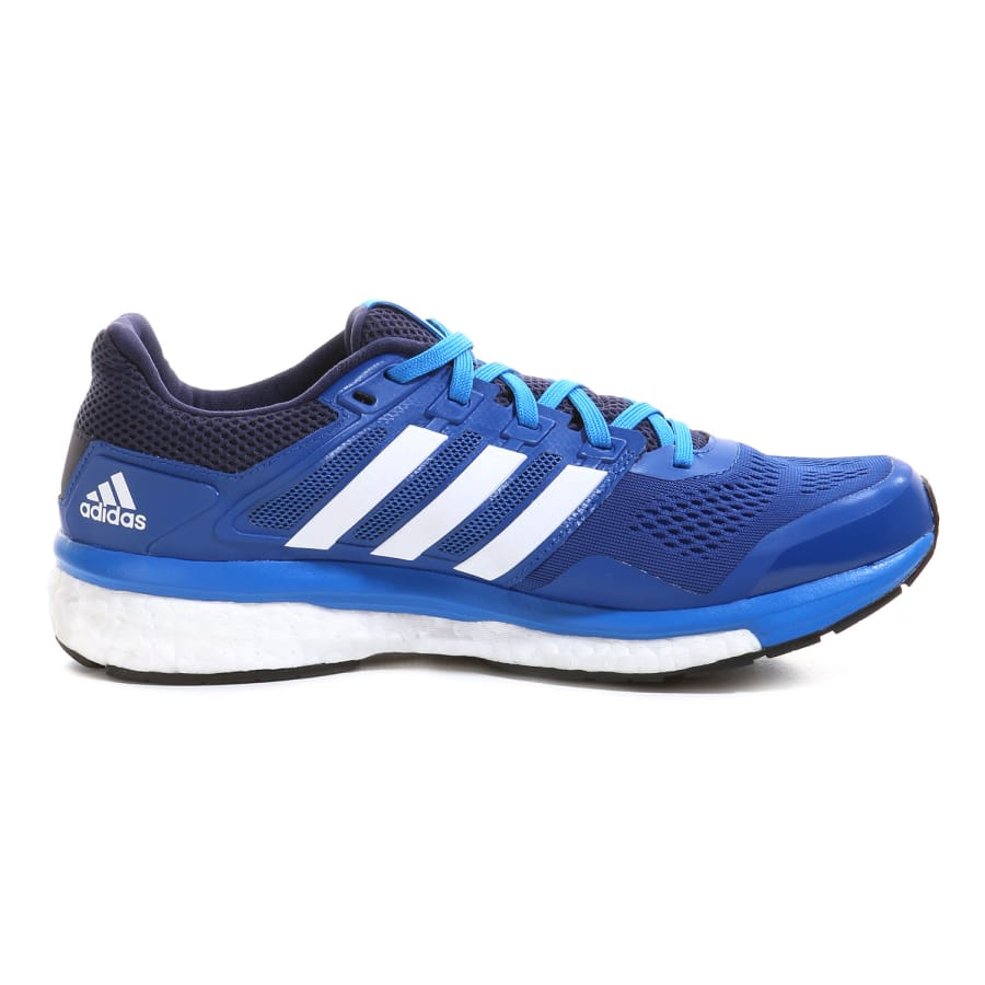 adidas supernova glide boost 8 laufschuhe herren blau. Black Bedroom Furniture Sets. Home Design Ideas