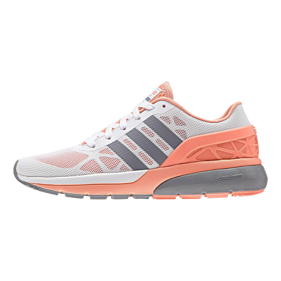 adidas neo cloudfoam sneaker damen wei apricot vaola. Black Bedroom Furniture Sets. Home Design Ideas