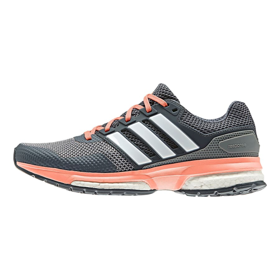 adidas response boost 2 laufschuhe damen grau apricot. Black Bedroom Furniture Sets. Home Design Ideas