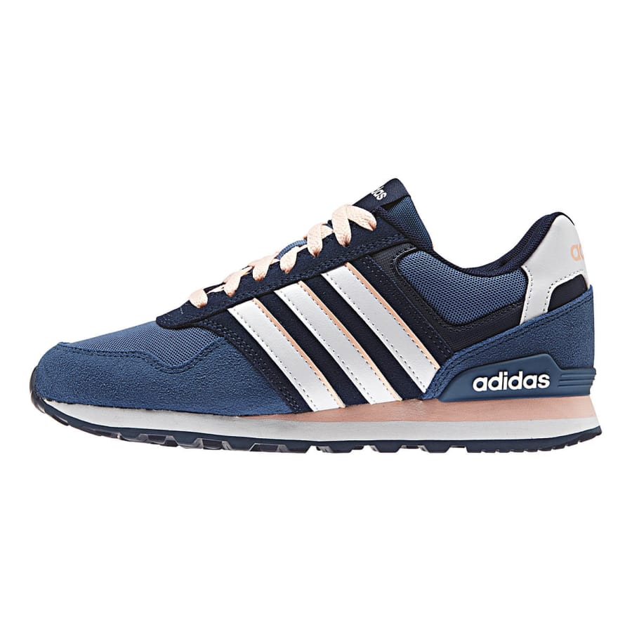 adidas neo 10k sneaker women navy white vaola. Black Bedroom Furniture Sets. Home Design Ideas