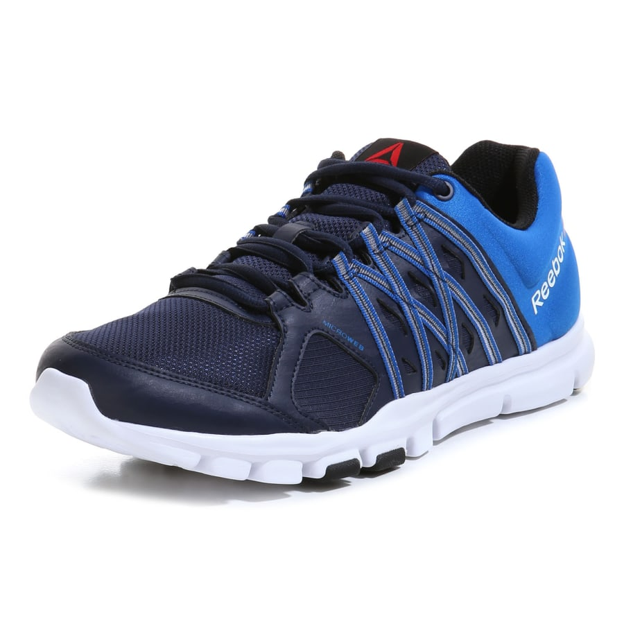 reebok yourflex train 8 0 fitness shoes men darkblue blue vaola. Black Bedroom Furniture Sets. Home Design Ideas