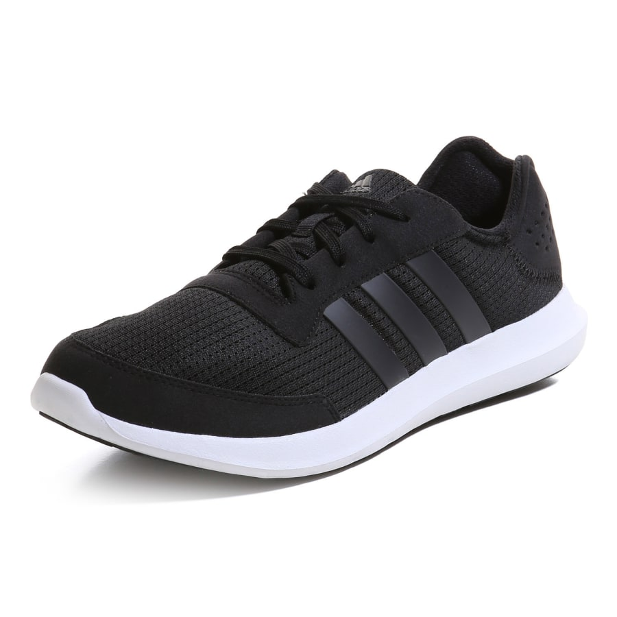 adidas element refresh running shoes men black vaola. Black Bedroom Furniture Sets. Home Design Ideas