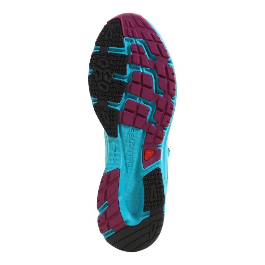 salomon sonic aero running shoes light blue vaola. Black Bedroom Furniture Sets. Home Design Ideas