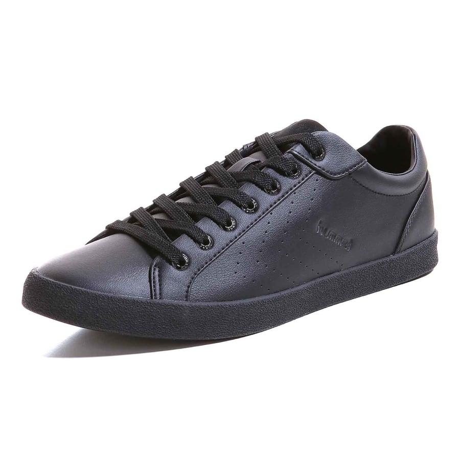 hummel deuce court tonal sneaker men black vaola. Black Bedroom Furniture Sets. Home Design Ideas