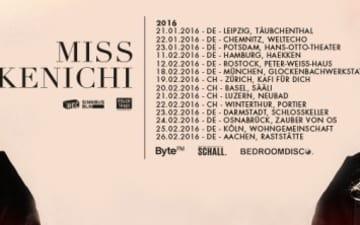 """Miss Kenichi auf Tour mit ihrem Album """"The Trail"""""""