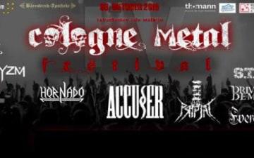 Cologne Metal Festival im Kulturbunker
