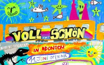 Voll Schön Open Air im Odonien