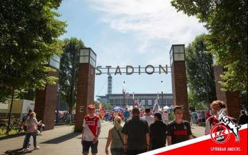 1.FC Köln - Borussia Dortmund im RheinEnergie Stadion