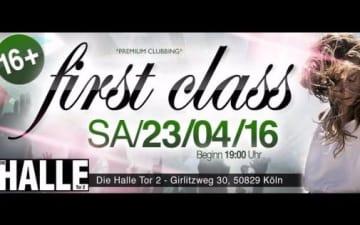 FIRST CLASS - Halle Tor 2
