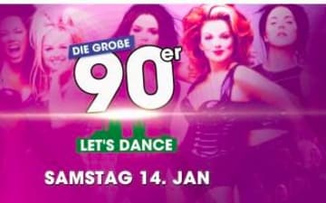 Let's Dance to 90s & Classics in der Kantine