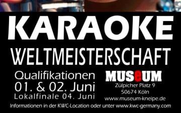 Karaoke Weltmeisterschafts-Qualifikation im Museum