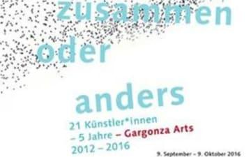 """Vernissage """"so zusammen oder anders"""" - 5 Jahre Gargonza Arts"""