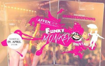 Funky Monkey Sommersemester Opening im Pan Tau Nightclub