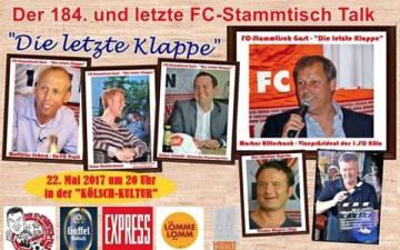 """FC-Stammtisch Talk - """"Die letzte Klappe"""""""