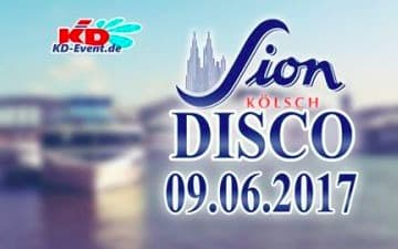 Sion-Kölsch-Disco auf dem KD Partyschiff