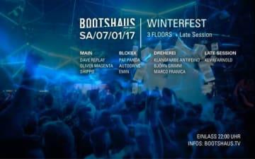Bootshaus Winterfest auf 3 Floors