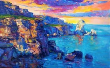 ArtNight: Oceans & Cliffs