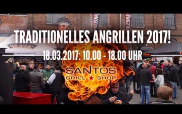 Traditionelles Angrillen im Santos Grill