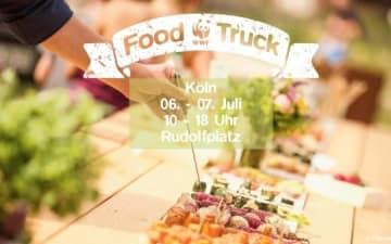 Der WWF Foodtruck in Köln
