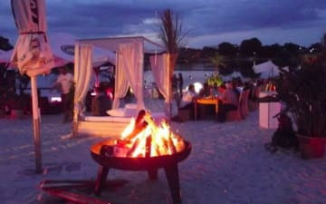 Carribean Night am Blackfoot Beach