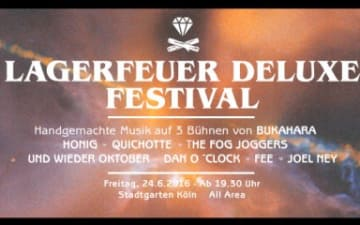Lagerfeuer Deluxe Festival im Stadtgarten
