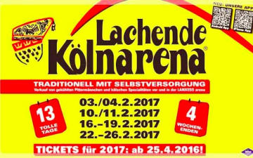 Lachende Kölnarena 2017