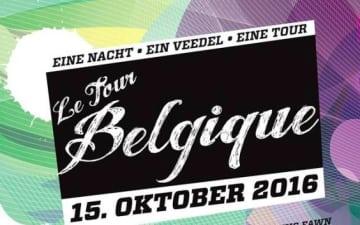 Le Tour Belgique 12 im Belgischen Viertel