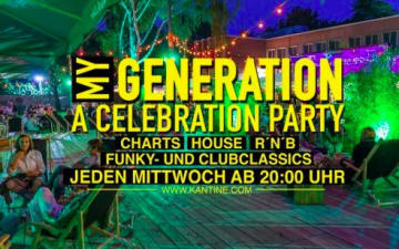 My Generation Ü30 - A Celebration in der Kantine