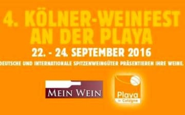 4. Kölner Weinfest an der Playa